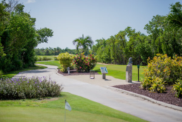 Key West Golf Course First Tee Box