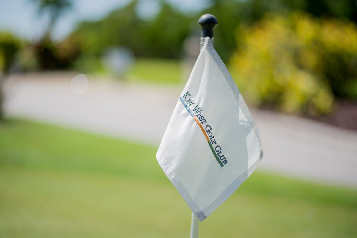 Key West Golf Course Flag