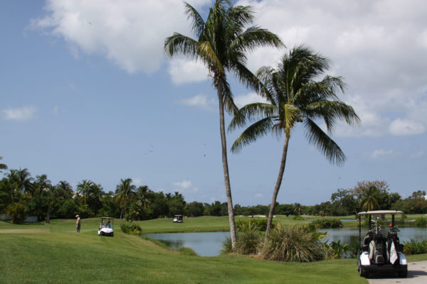 Key West Golf Course people playing