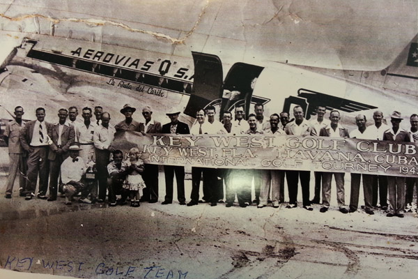 Historical Key West Golf Club Havana Cuba club group
