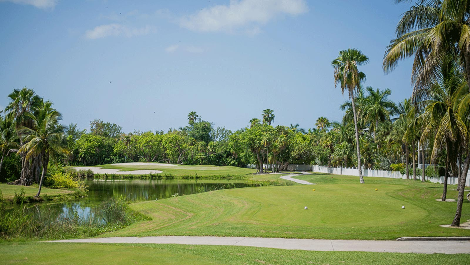 Key West Golf Course Tee Box